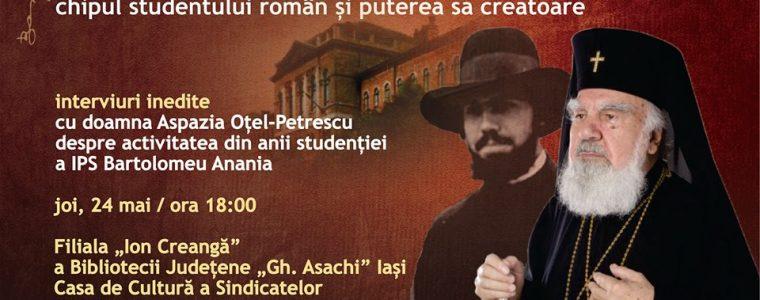IPS Bartolomeu Anania. Chipul studentului român și puterea sa creatoare